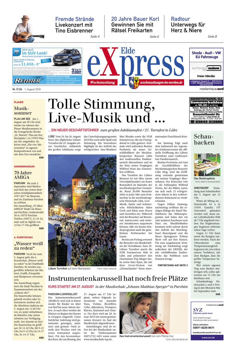 Elde Express - 01.08.2018