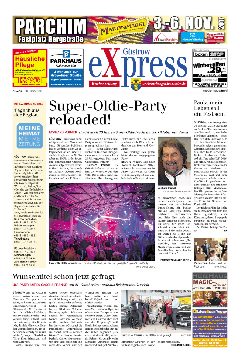 Güstrow Express - 18.10.2017